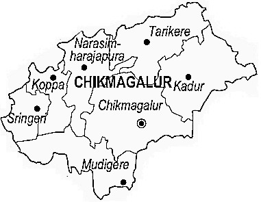 Chikmagalur District Chikmagalur District Map - Chikmagalur map