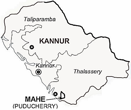 Kannur District Kannur District Map - Kannur map