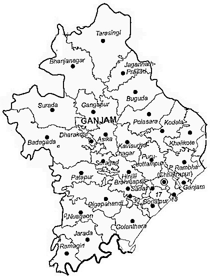 Image Result For Maps Of Orissa
