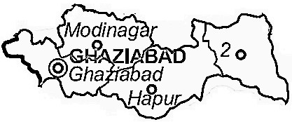 Ghaziabad District Ghaziabad District Map - Ghaziabad map