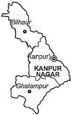 Kanpur Nagar District Kanpur Nagar District Map