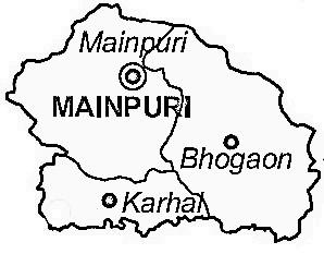 Mainpuri District  Mainpuri District Map