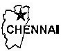 Chennai District  Map . Surrounded by Thiruvallur District ,Kanchipuram District ,Vellore District , .