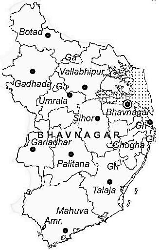 Bhavnagar District | Bhavnagar District Map