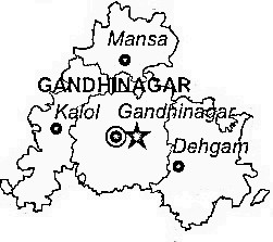 Image Result For Gujarat Map