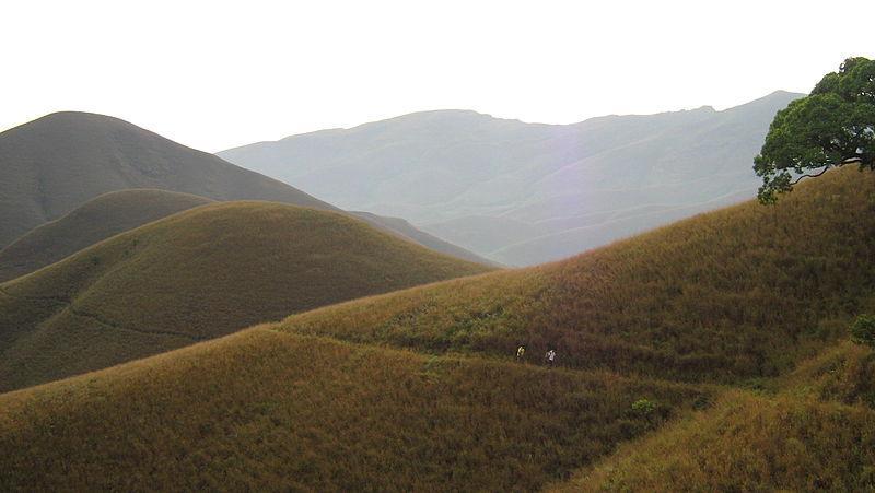 the hills of Kuduremukha range