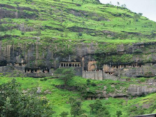 Lenyadri Caves, Junnar rock cut Buddhist temples