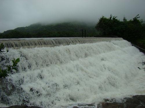 Pawna lake in Kamshet