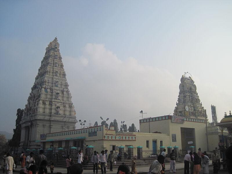 Mahadeshwara Temple at Male Mahadeshwara Hills