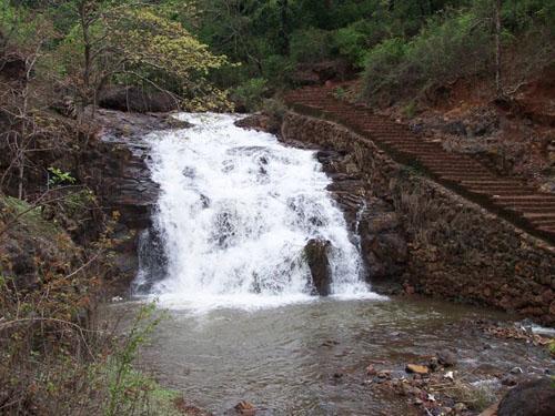 Waterfall near Nachane, Ratnagiri