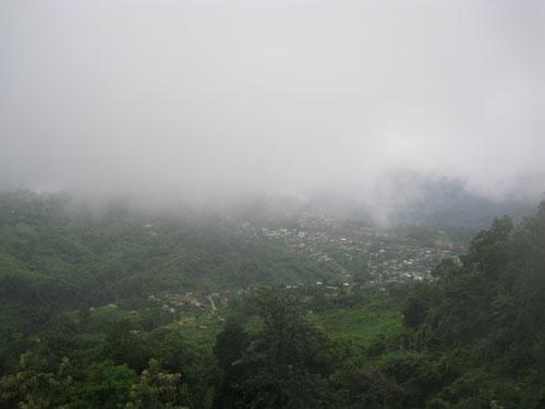The khonsa townscape