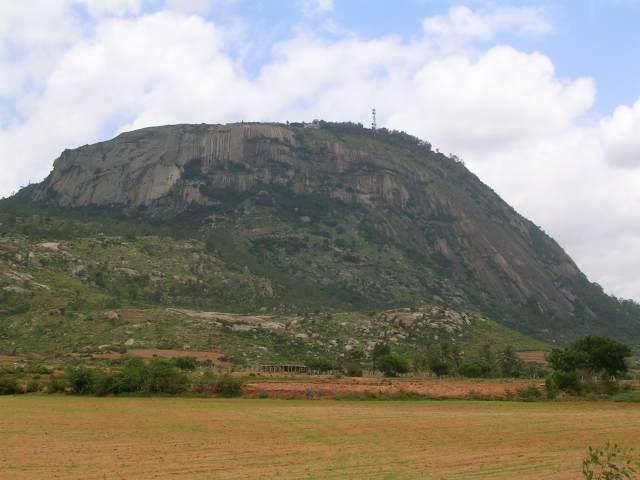 View of Nandi hills