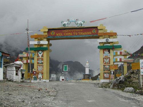 Gateway to Tawang at Sela Pass