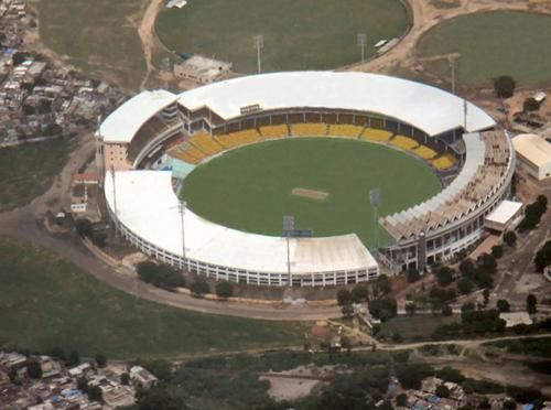 Aerial View Motera Stadium