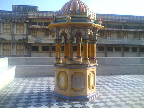 Chhatri of Lord Swaminarayan' s Charanavind