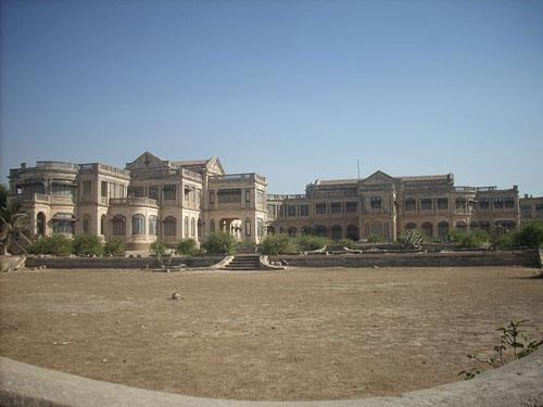 Huzoor Palace at Porbandar