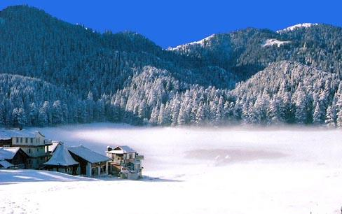 Khajjiar in Snow
