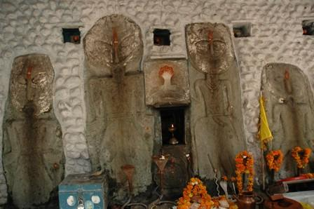 Nag temple at Baba Dhansar