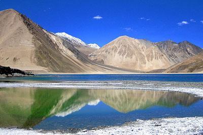 Taglang La mountain pass in Ladakh