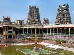 Meenakshi Sundareswarar Temple in Chettinad