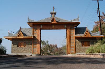 Parol Himalayan Village Gate
