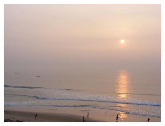 Sunrise Gopalpur on Sea