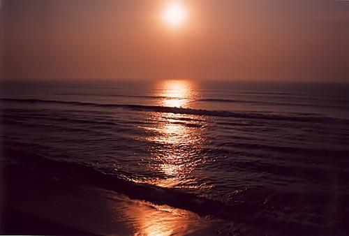 Sunrise in gopalpur
