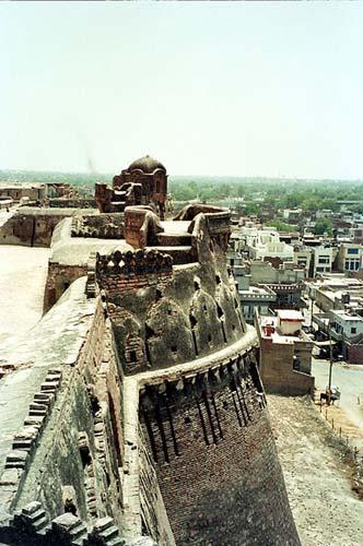 Bathinda fort from top