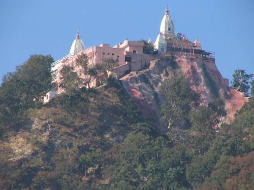 Mountain of Mansa Devi Temple