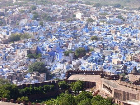 Jodhpur, also known as Sun City and Blue city