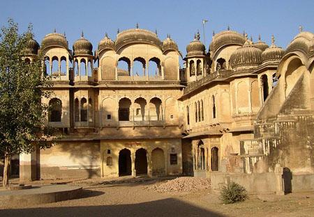 This temple built by Shekhawat ruler of Nawalgarh