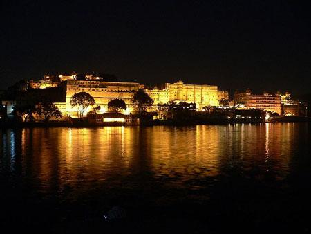 Udaipur Palace Night