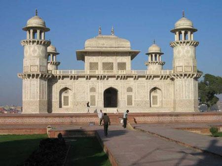 The 'Itmad-Ud-Daulah's Tomb at Agra