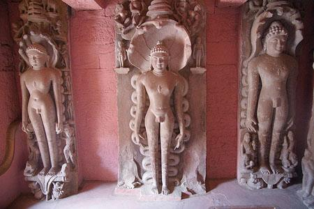 The Shantinath Temple in the fort area at Deogarh