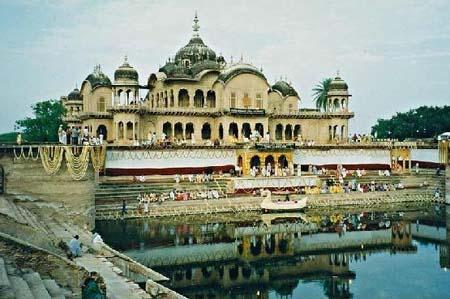 Temple near Govardhan State of Uttar Pradesh