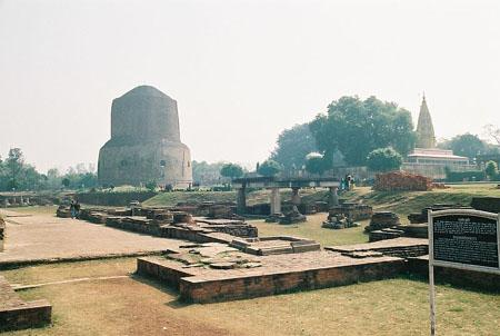 The Dhamekh Stupa, Sarnath