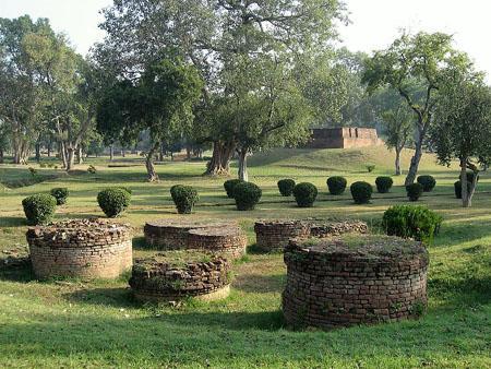 Gandhakuti (Buddha's hut) in Jetavana.
