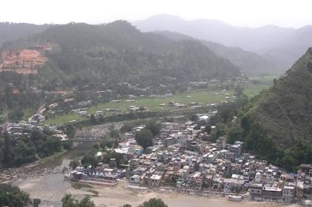 Bageshwar eye view