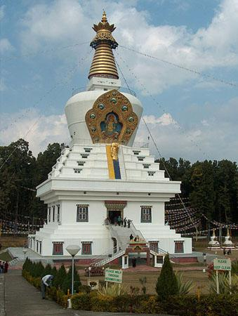 Great stupa in Mindroling