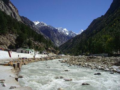 Bhagirathi River at Gangotri