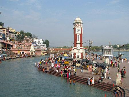 Clock Tower at Har ki Pauri Haridwar