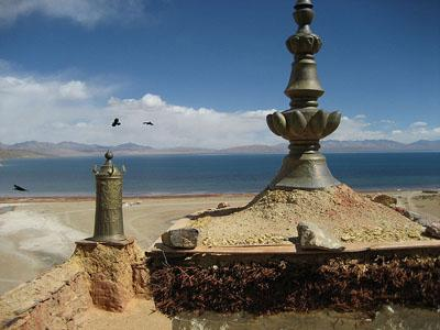 View from Chiu Gompa