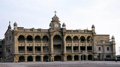 Facade of St. George's College, Mussoorie,