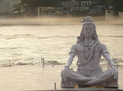 Shiva in rishikesh