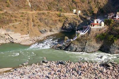 Rudraprayag Confluence of Alaknanda and Mandakini