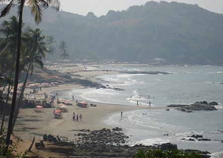 Vagatore Beach
