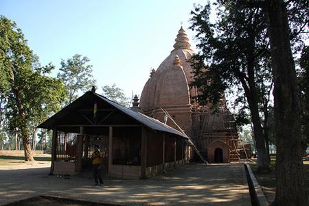 Shiva temple near Jorhat