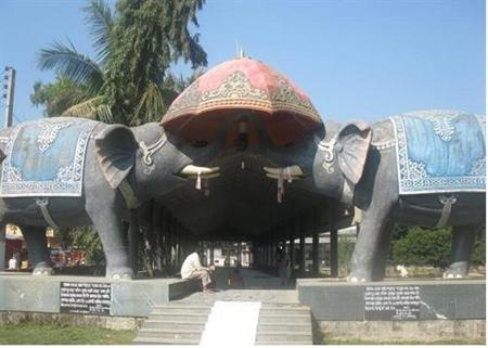 Entrance of Dhekikhua NamgharJorhat Assam