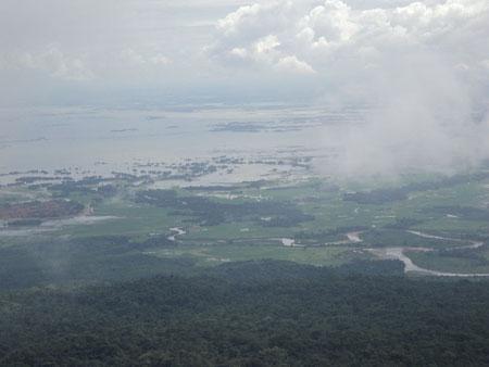 Bengladesh Plains, View FromThangkharang Cherrapunjee