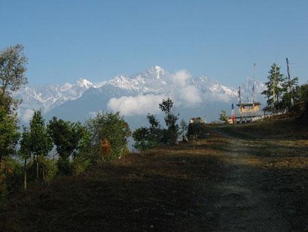 Beautiful Borong Sikkim Mount Pandim